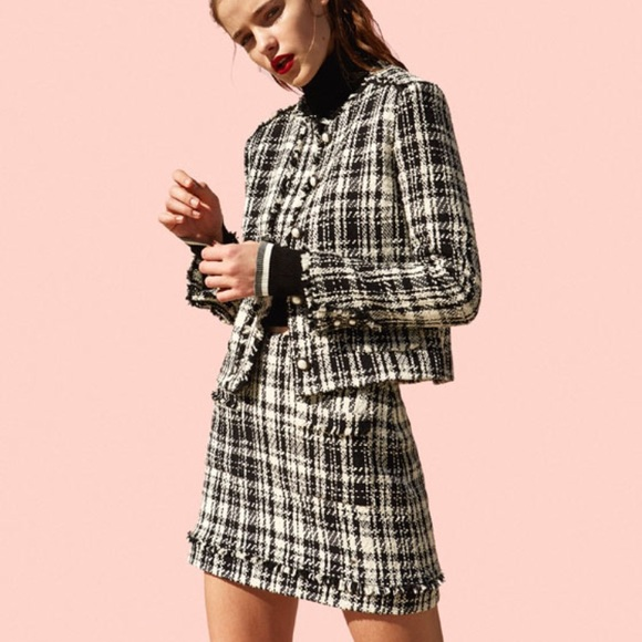 887101c8dc Zara Skirts | Tweed Skirt Suit | Poshmark